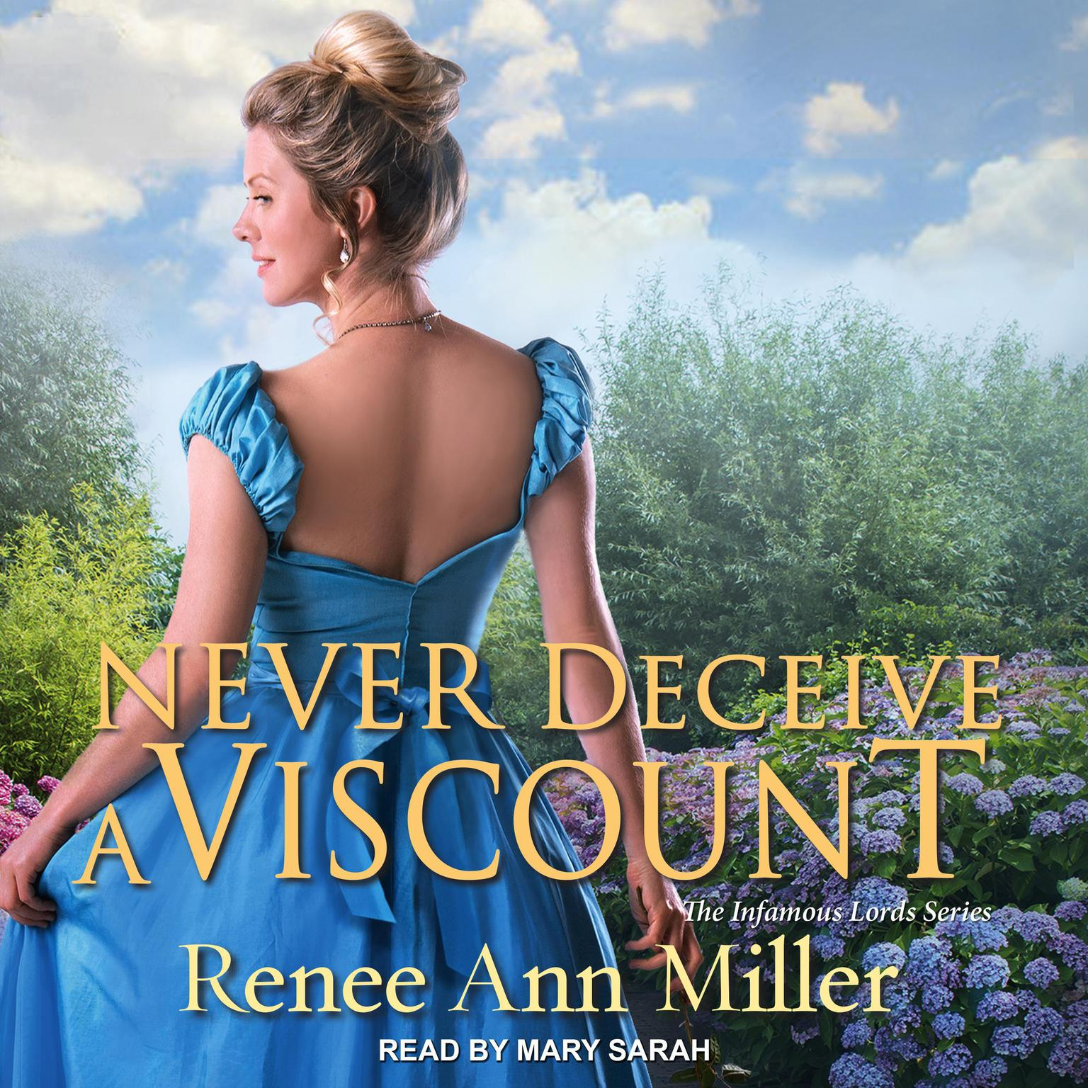 Printable Never Deceive a Viscount Audiobook Cover Art