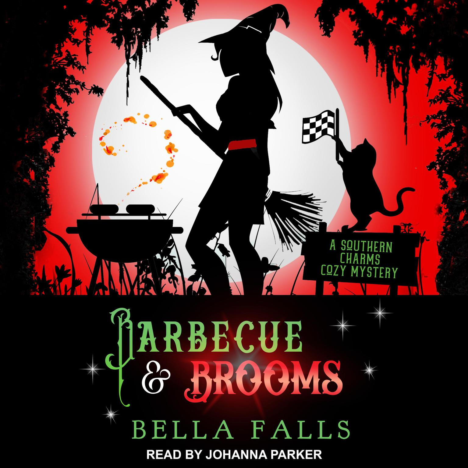Printable Barbecue & Brooms Audiobook Cover Art
