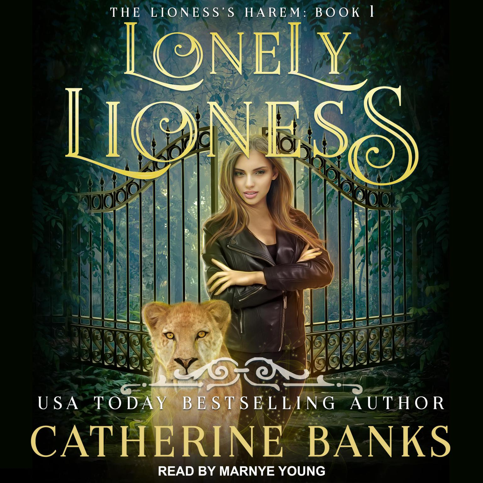 Printable Lonely Lioness Audiobook Cover Art