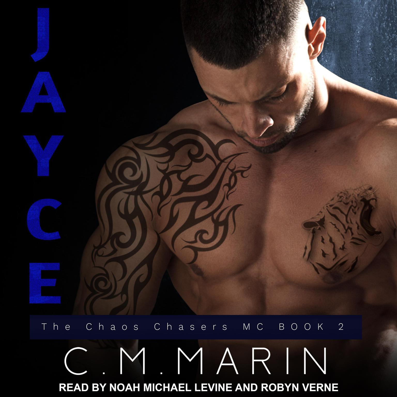 Printable Jayce Audiobook Cover Art