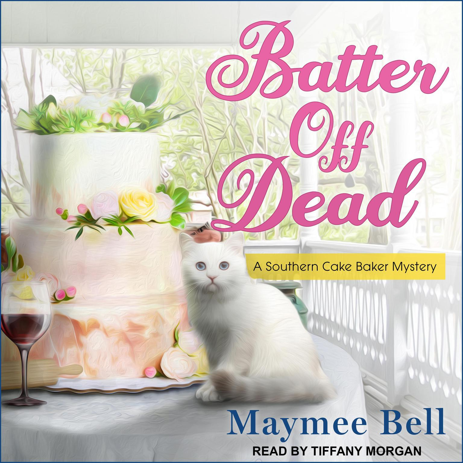 Printable Batter Off Dead Audiobook Cover Art