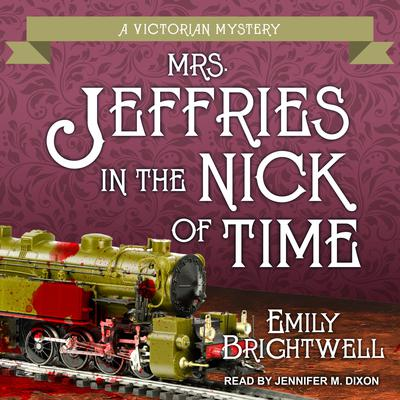 Mrs. Jeffries in the Nick of Time Audiobook, by