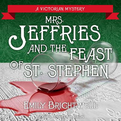 Mrs. Jeffries and the Feast of St. Stephen Audiobook, by