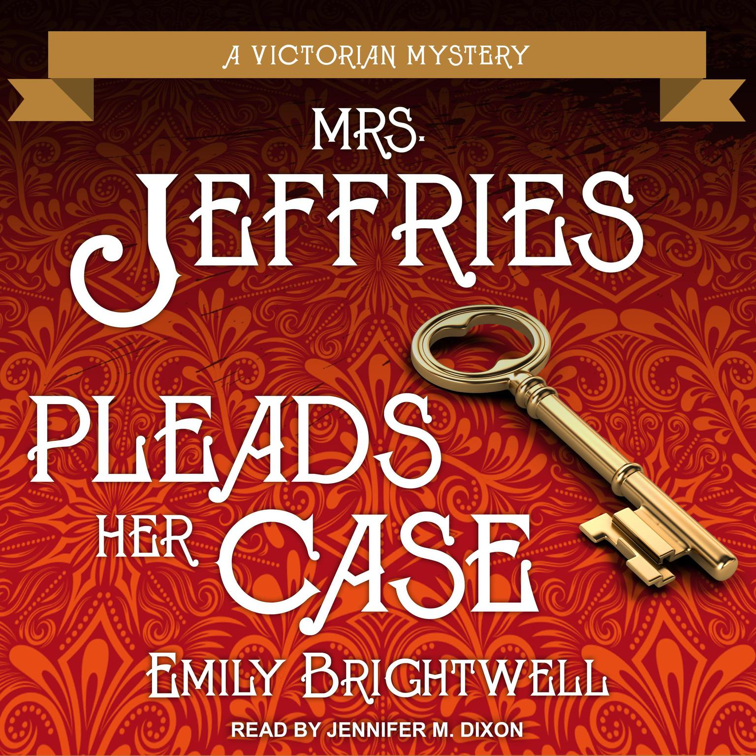 Printable Mrs. Jeffries Pleads Her Case Audiobook Cover Art