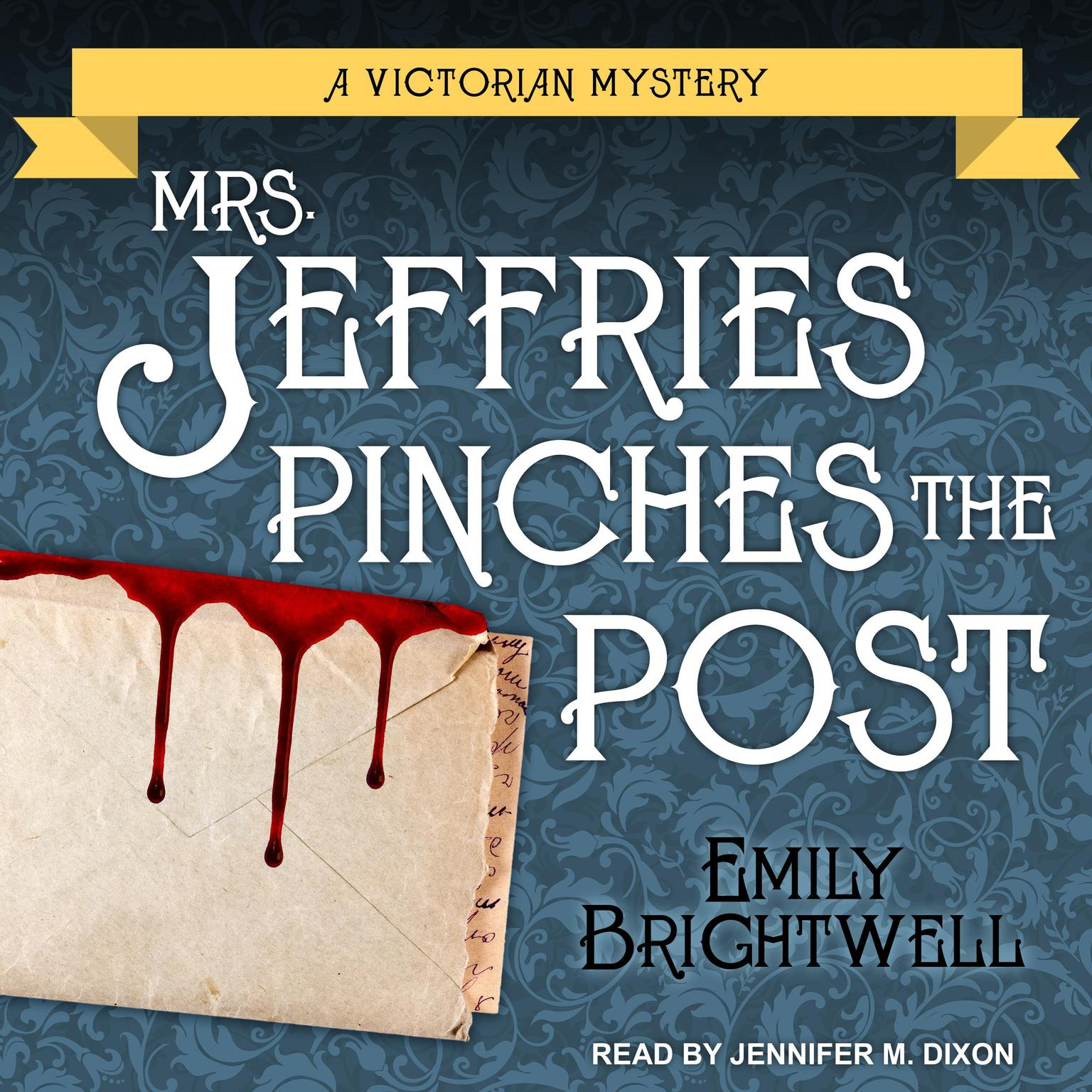Printable Mrs. Jeffries Pinches the Post Audiobook Cover Art