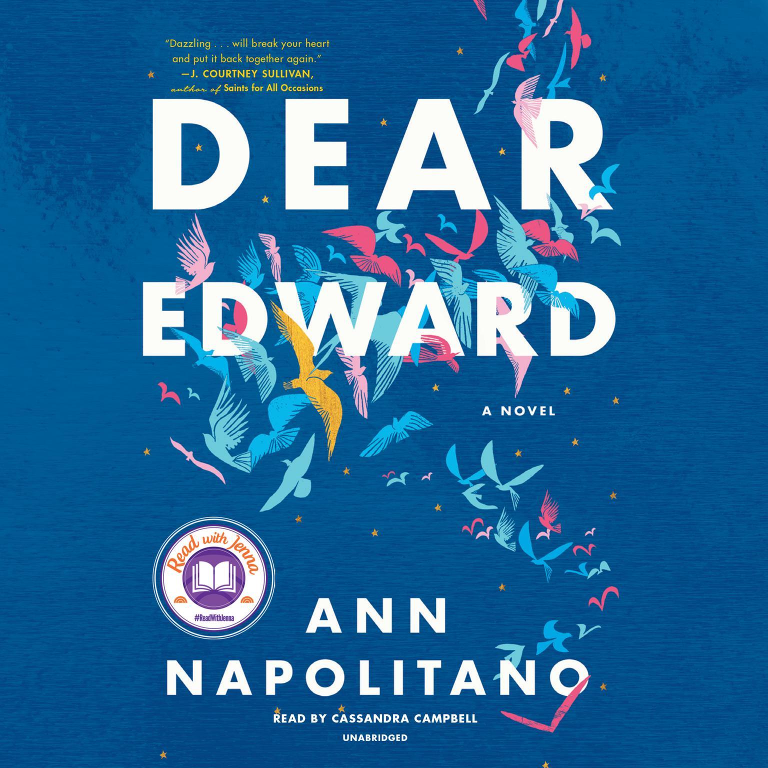 Printable Dear Edward: A Novel Audiobook Cover Art