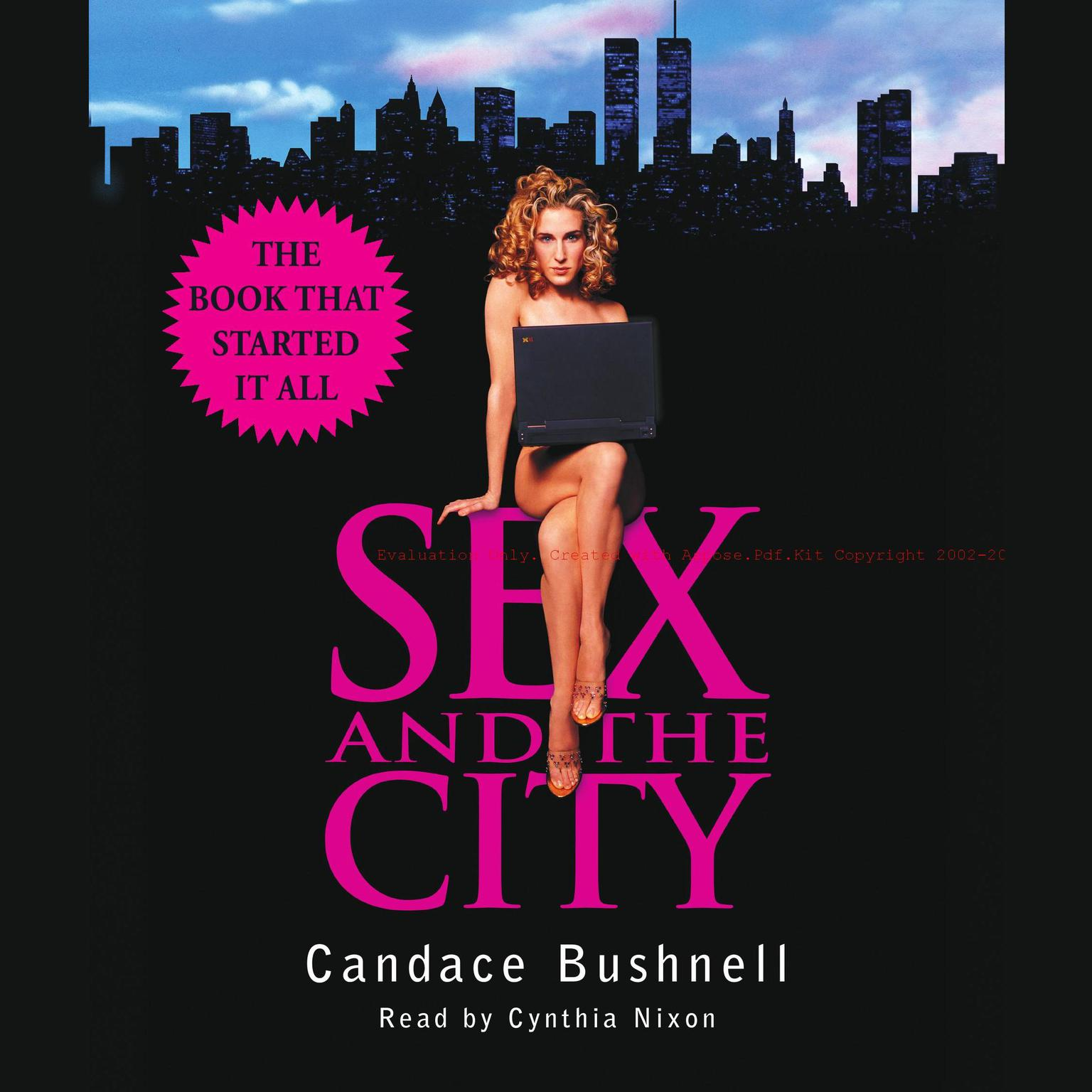 Printable Sex and the City Audiobook Cover Art