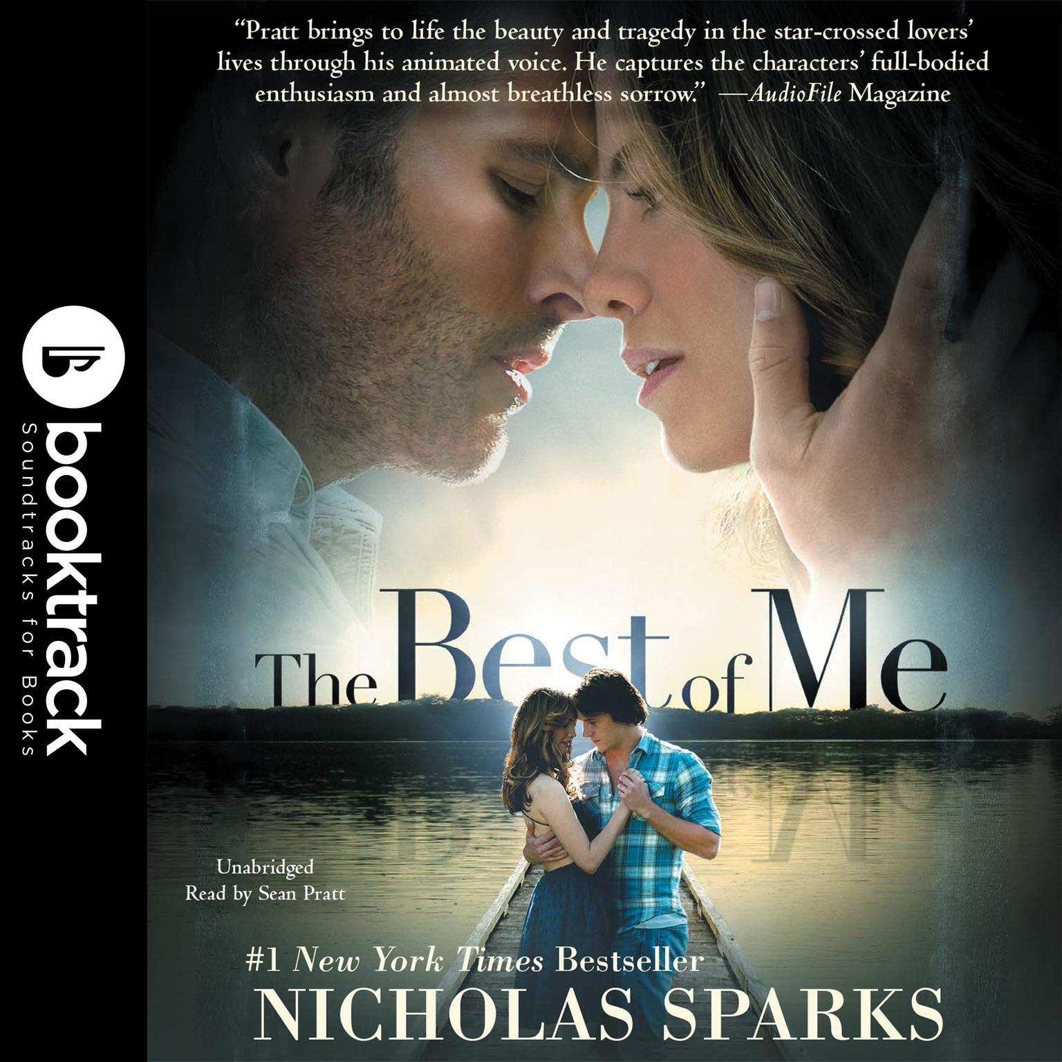 Printable The Best of Me: Booktrack Edition Audiobook Cover Art