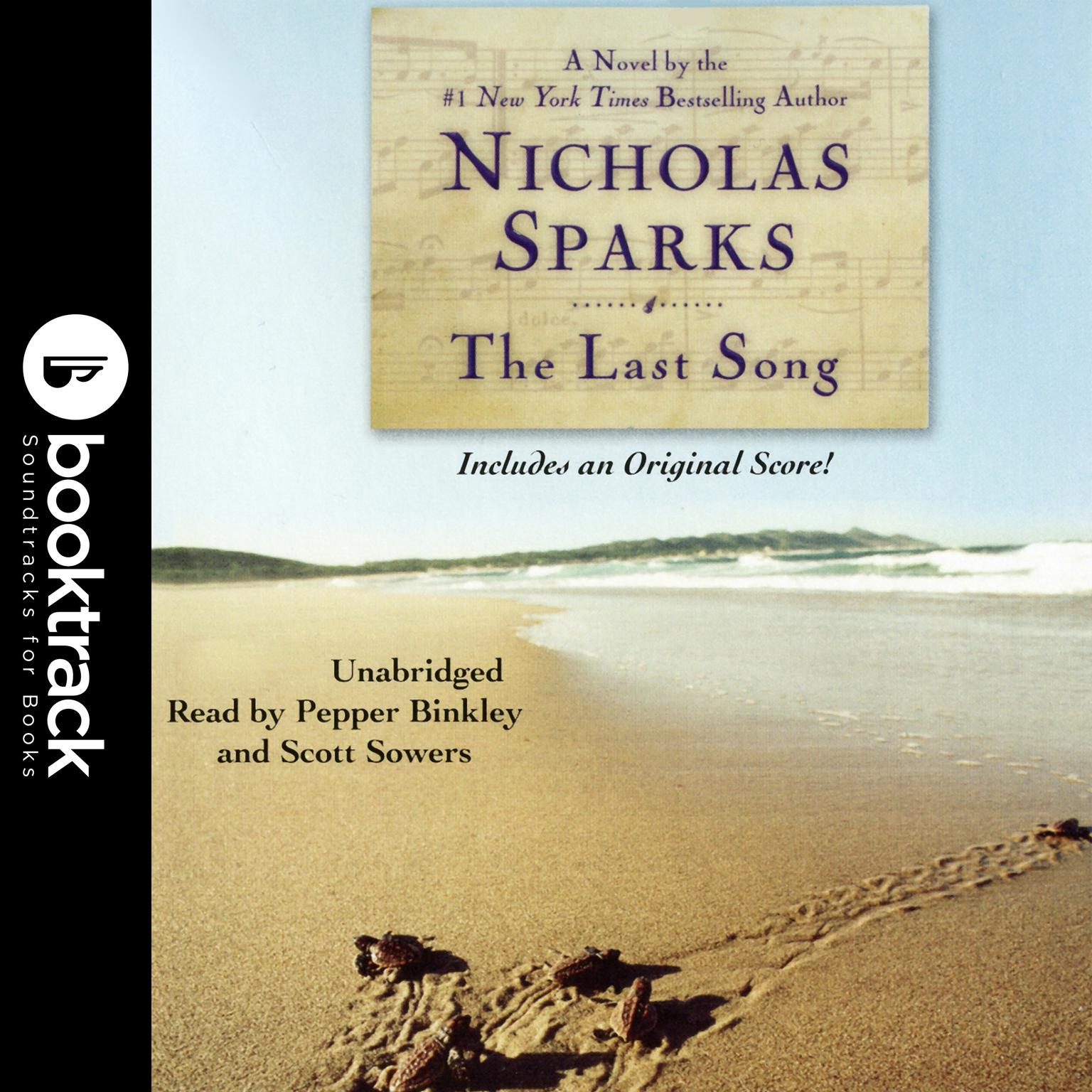 Printable The Last Song: Booktrack Edition Audiobook Cover Art