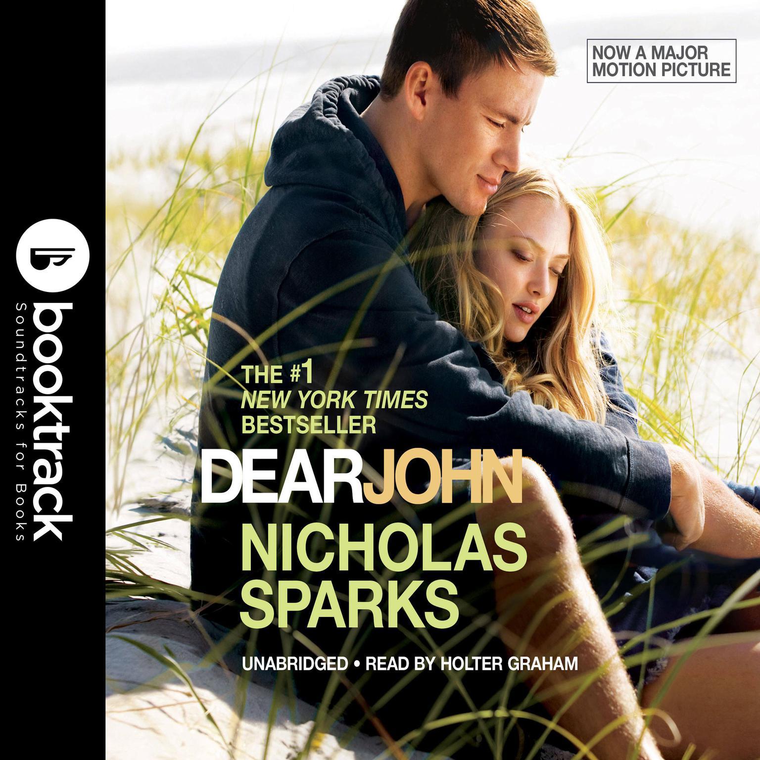 Printable Dear John: Booktrack Edition Audiobook Cover Art