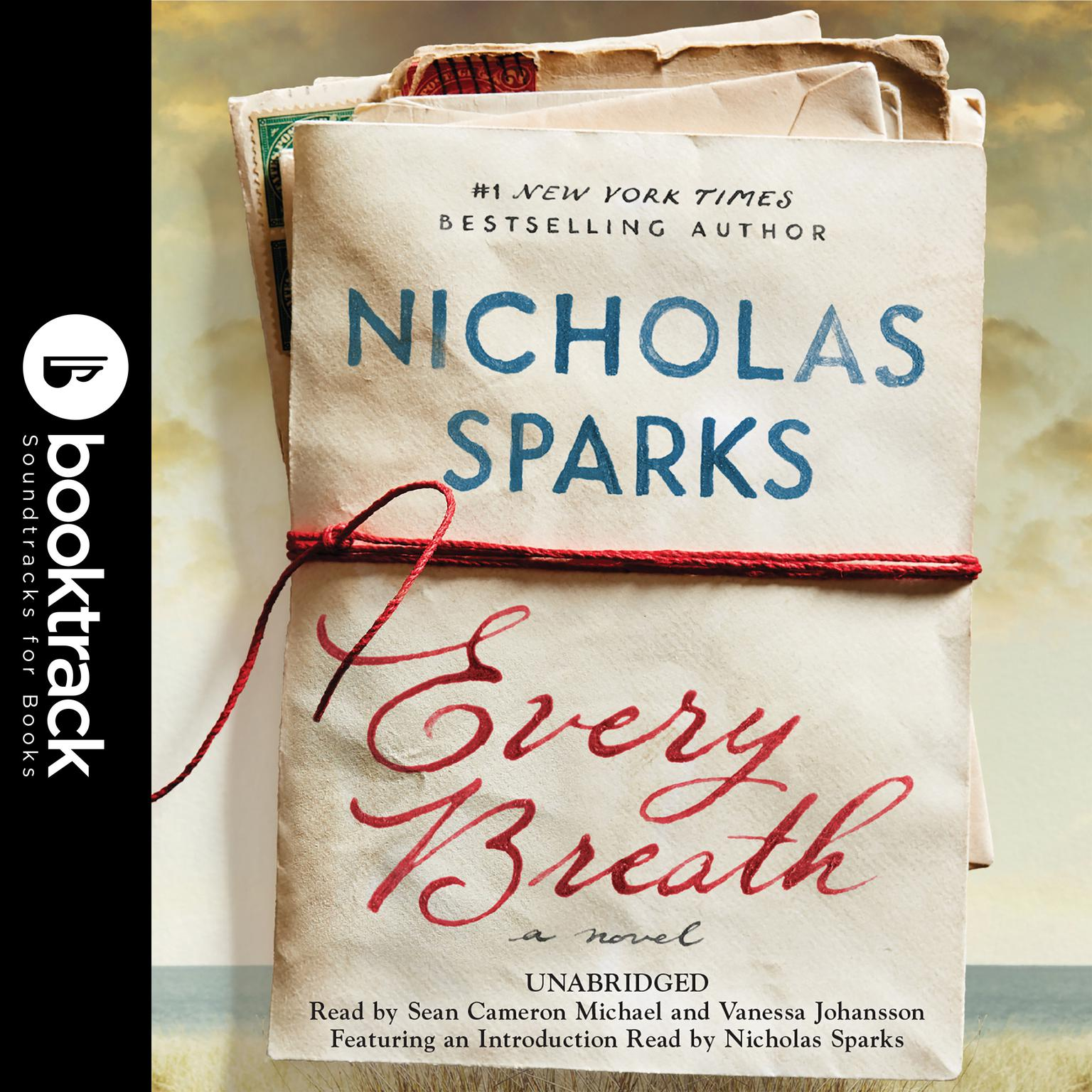 Printable Every Breath: Booktrack Edition Audiobook Cover Art