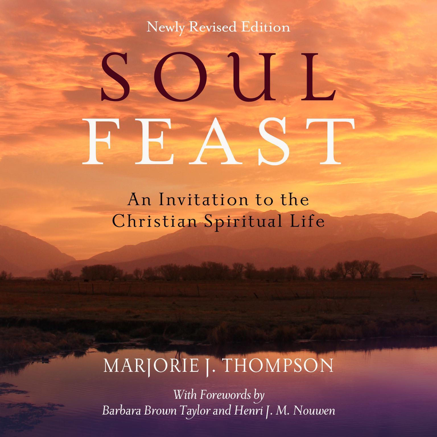 Printable Soul Feast: An Invitation to the Christian Spiritual Life Audiobook Cover Art