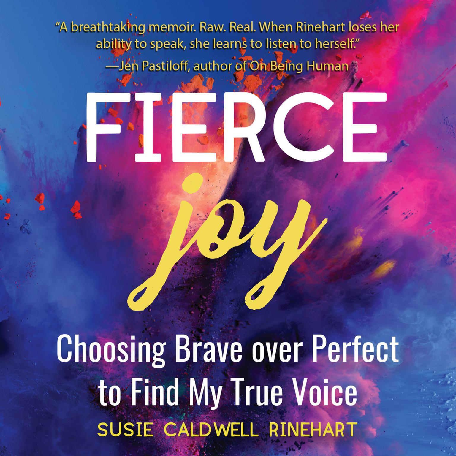 Printable Fierce Joy Audiobook Cover Art