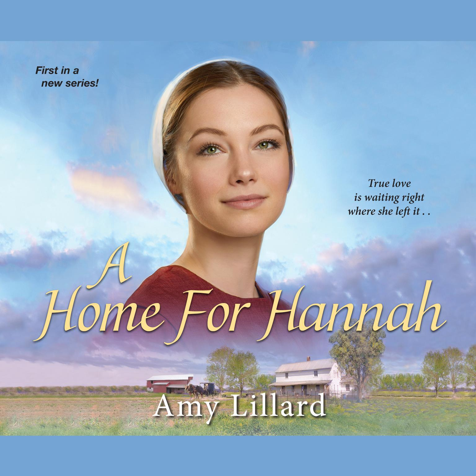 Printable A Home for Hannah Audiobook Cover Art