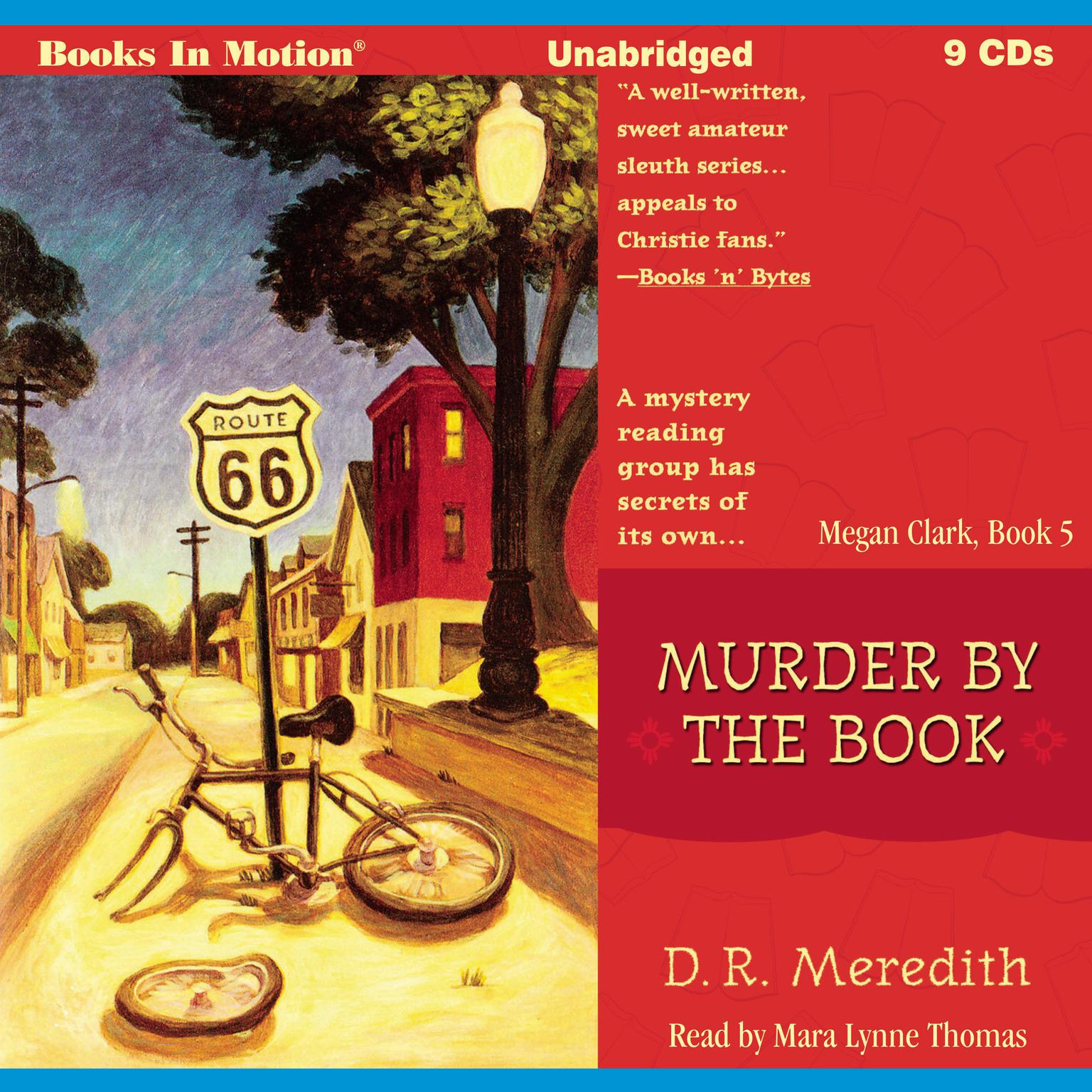 Murder By The Book Audiobook, by D.R. Meredith