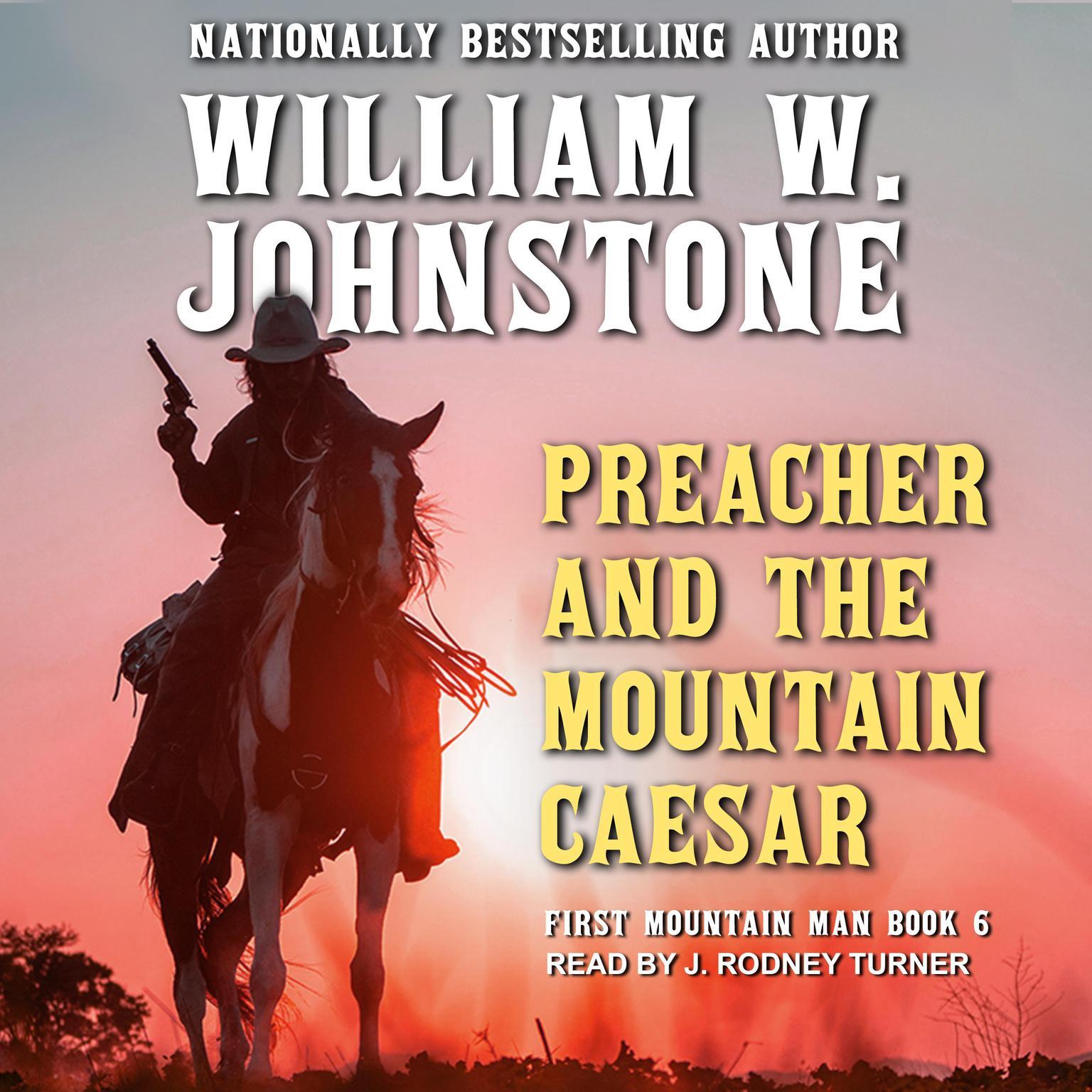 Printable Preacher and the Mountain Caesar Audiobook Cover Art