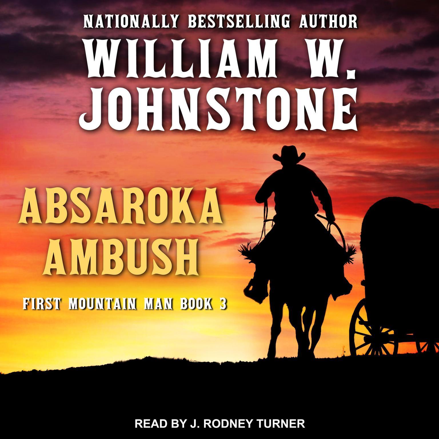 Printable Absaroka Ambush Audiobook Cover Art
