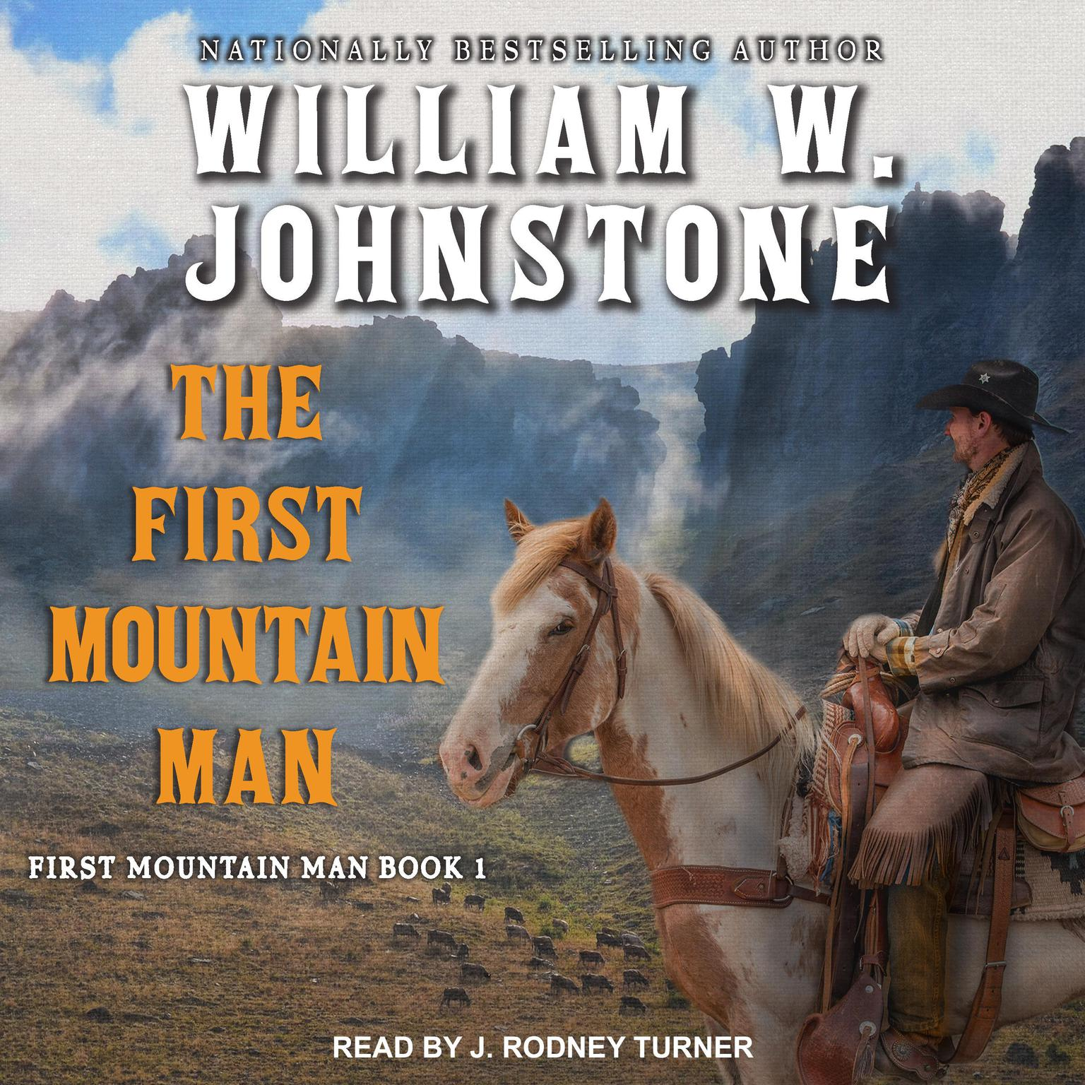 Printable The First Mountain Man Audiobook Cover Art