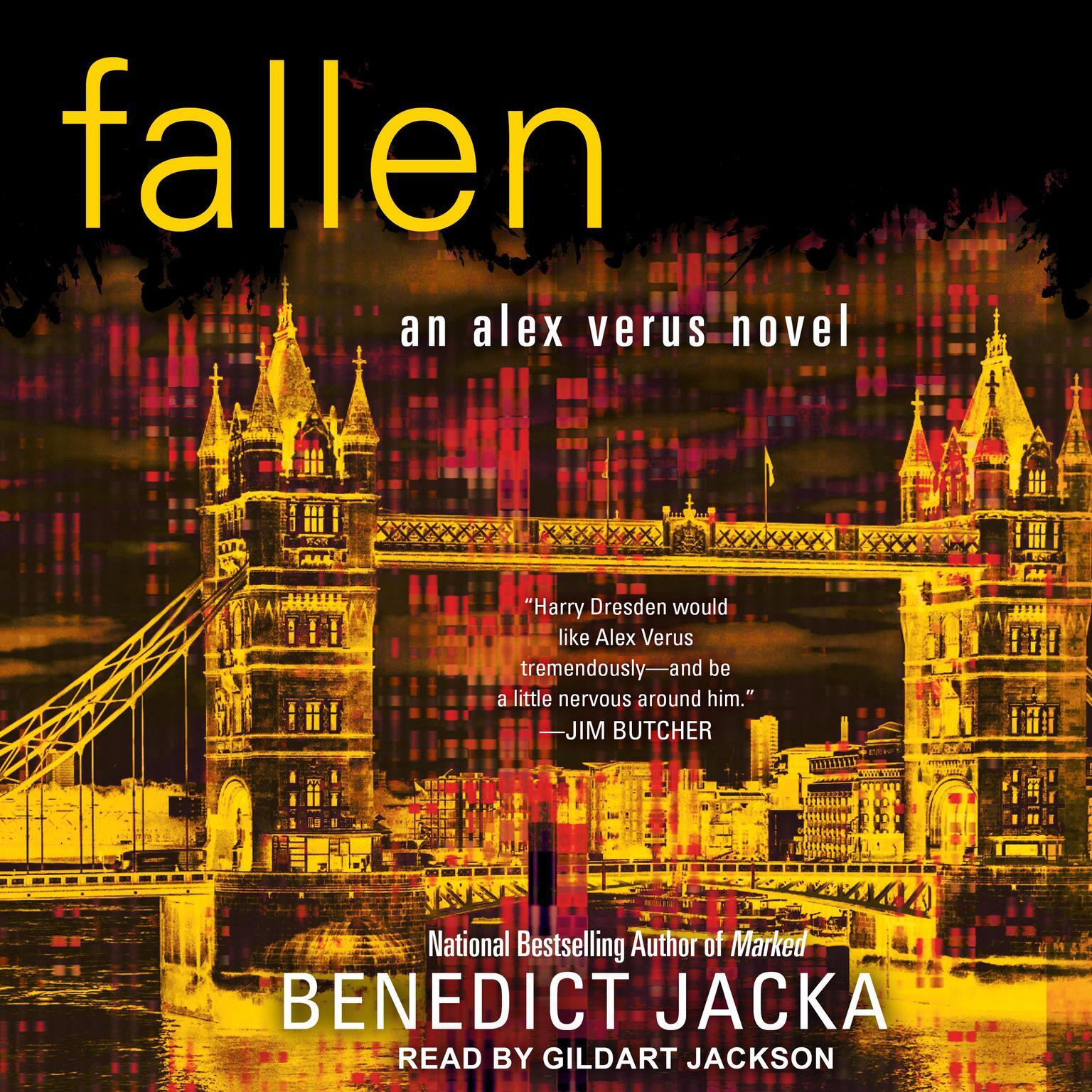 Printable Fallen Audiobook Cover Art