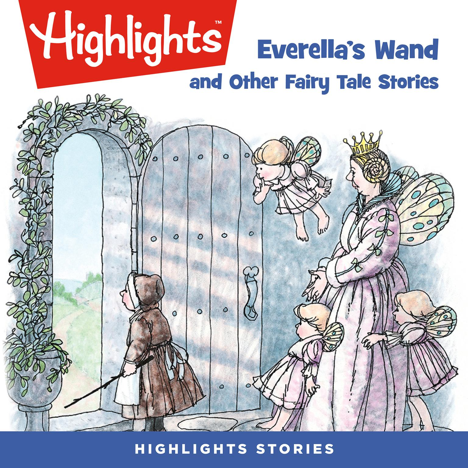 Printable Everella's Wand and Other Fairy Tale Stories Audiobook Cover Art