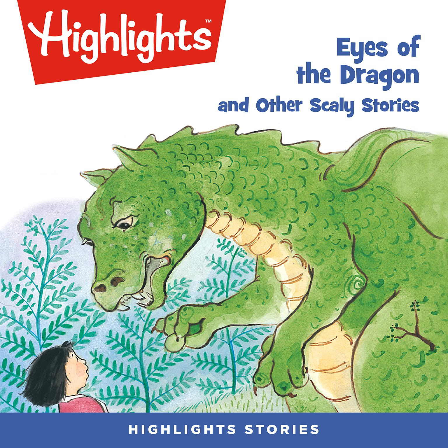 Printable Eyes of the Dragon and Other Scaly Stories Audiobook Cover Art