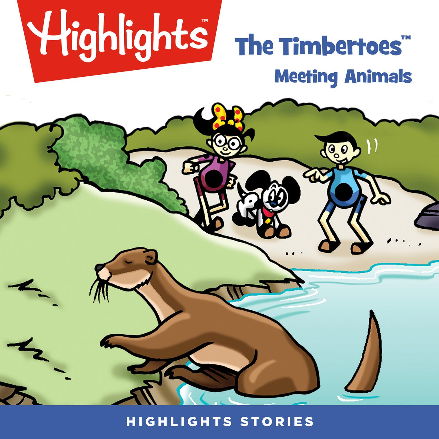 Printable The Timbertoes: Meeting Animals Audiobook Cover Art