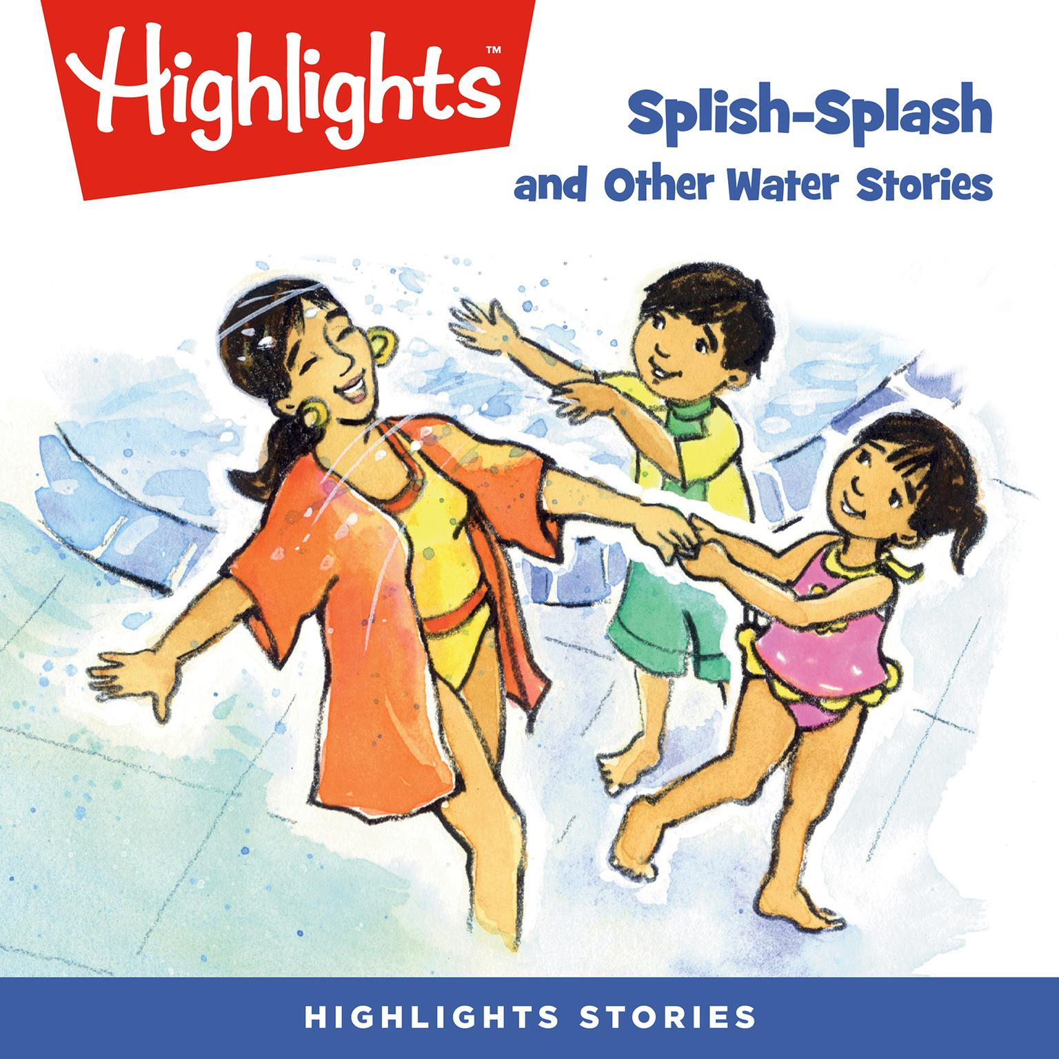 Printable Splish-Splash and Other Water Stories Audiobook Cover Art