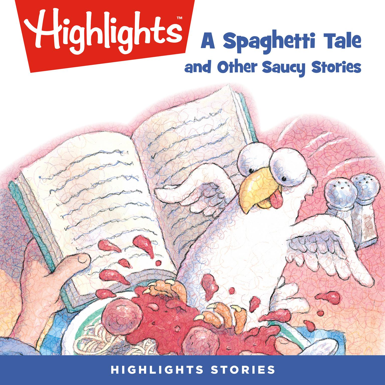 Printable A Spaghetti Tale and Other Saucy Stories Audiobook Cover Art