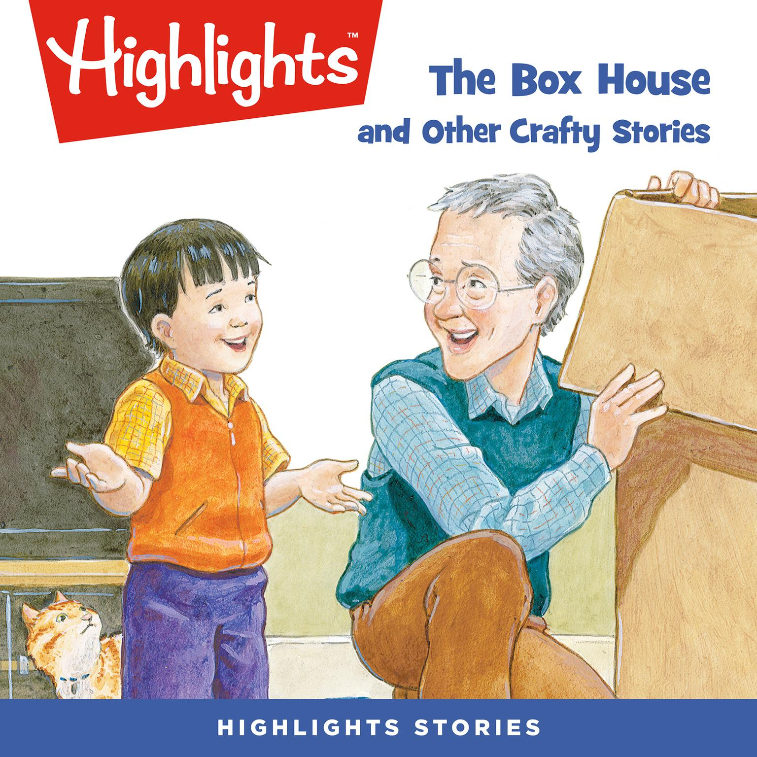 Printable The Box House and Other Crafty Stories Audiobook Cover Art