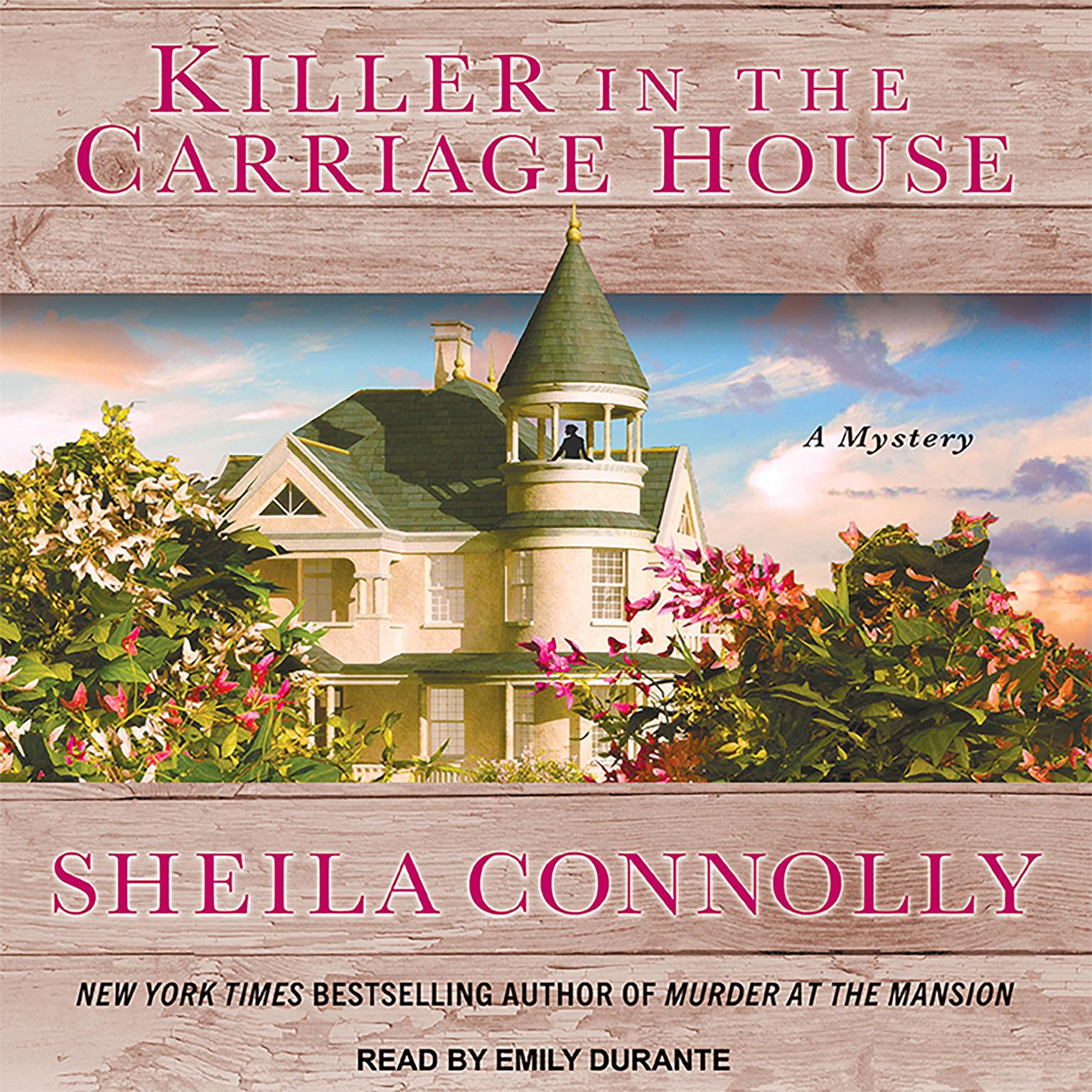 Printable Killer in the Carriage House Audiobook Cover Art