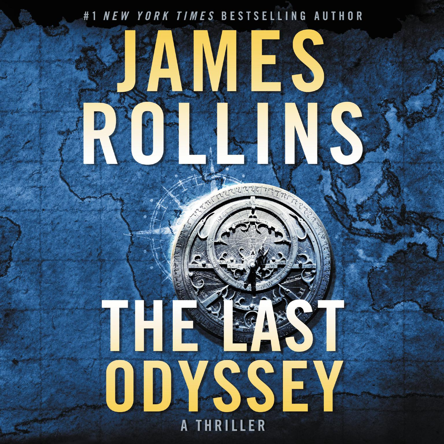 Printable The Last Odyssey: A Thriller Audiobook Cover Art