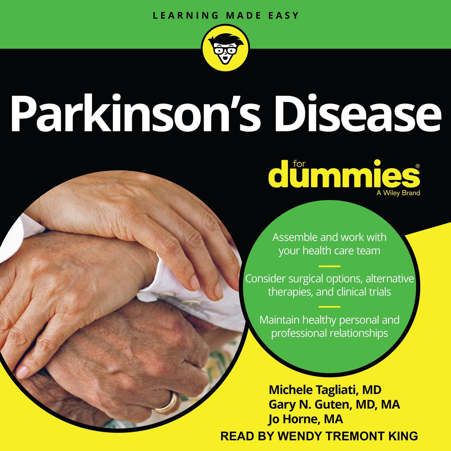 Printable Parkinson's Disease For Dummies Audiobook Cover Art
