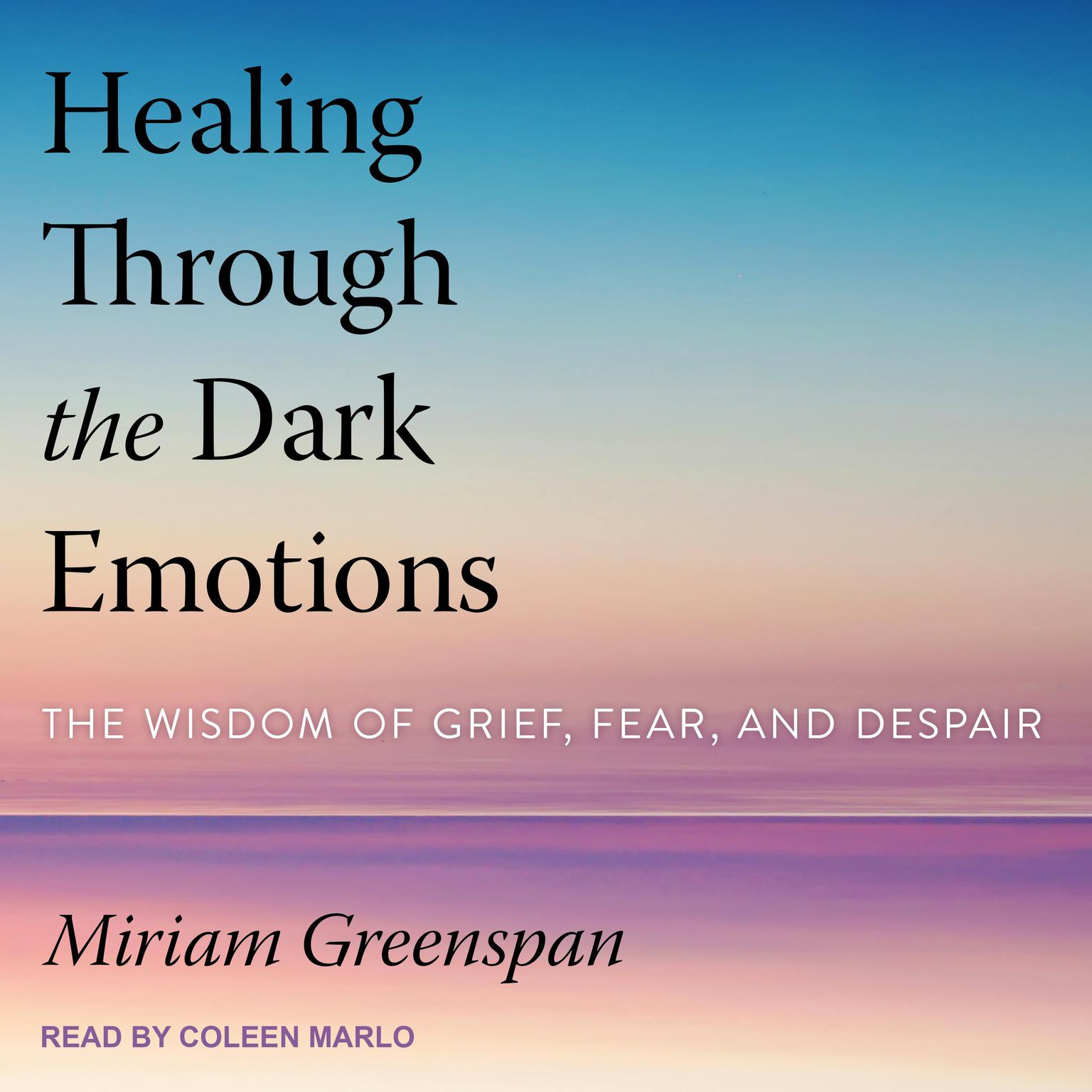Printable Healing Through the Dark Emotions: The Wisdom of Grief, Fear, and Despair Audiobook Cover Art