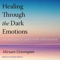 Healing Through the Dark Emotions: The Wisdom of Grief, Fear, and Despair Audiobook, by Miriam Greenspan
