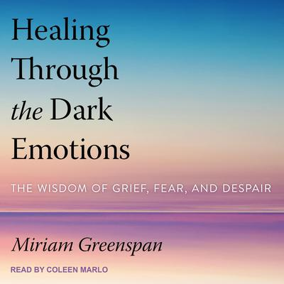 Healing Through the Dark Emotions: The Wisdom of Grief, Fear, and Despair Audiobook, by Miriam Greenspan