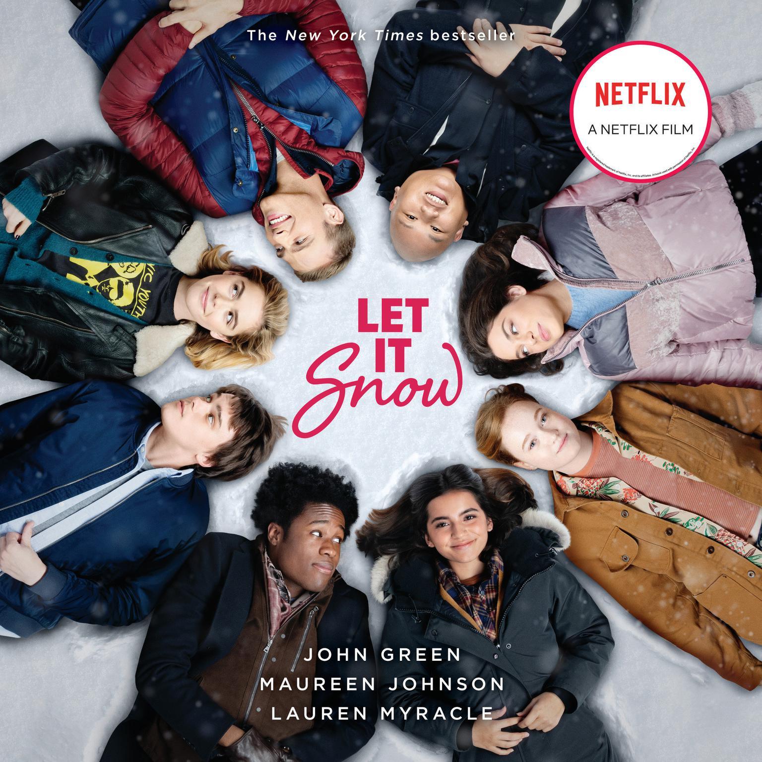Printable Let It Snow (Movie Tie-In): Three Holiday Romances Audiobook Cover Art
