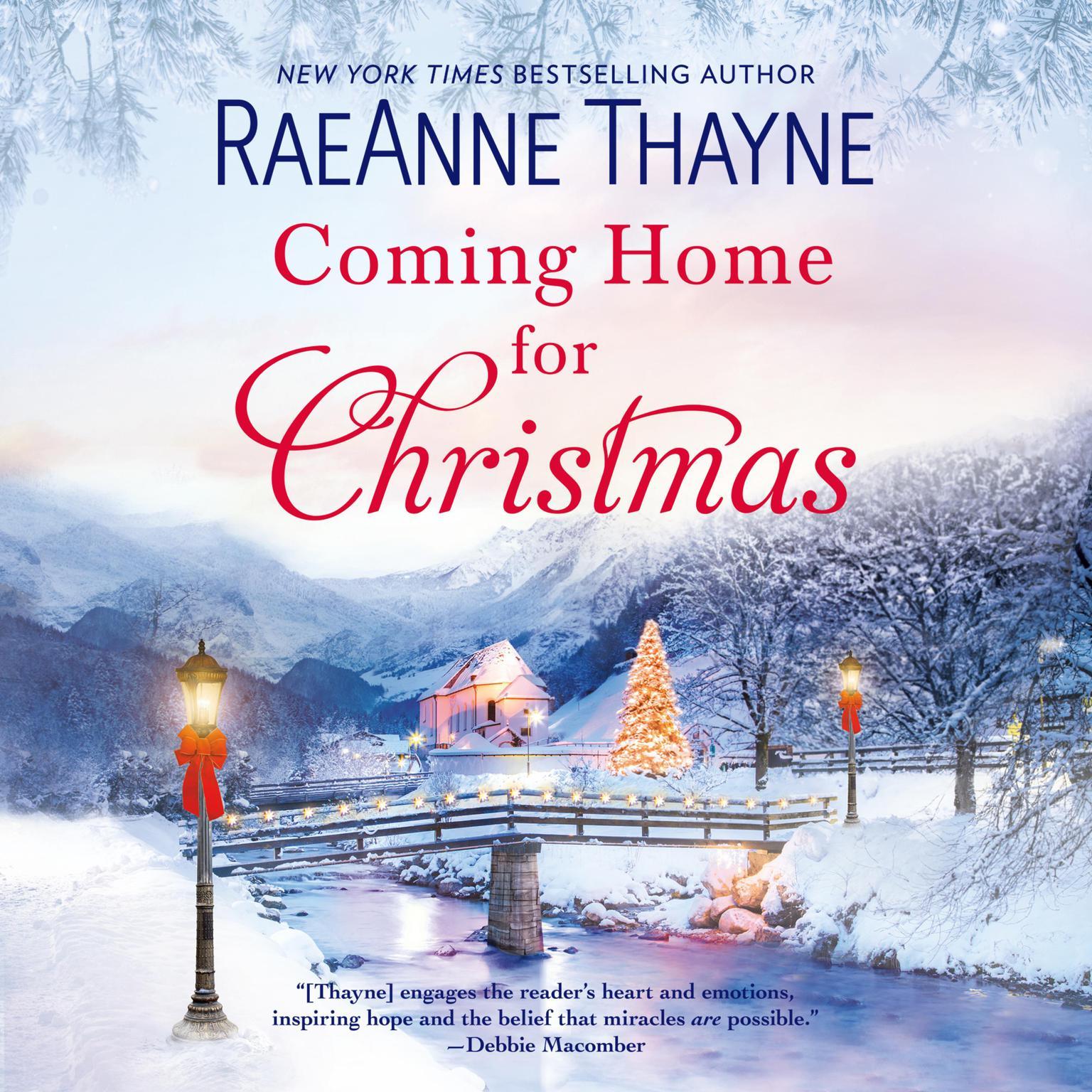 Printable Coming Home for Christmas Audiobook Cover Art