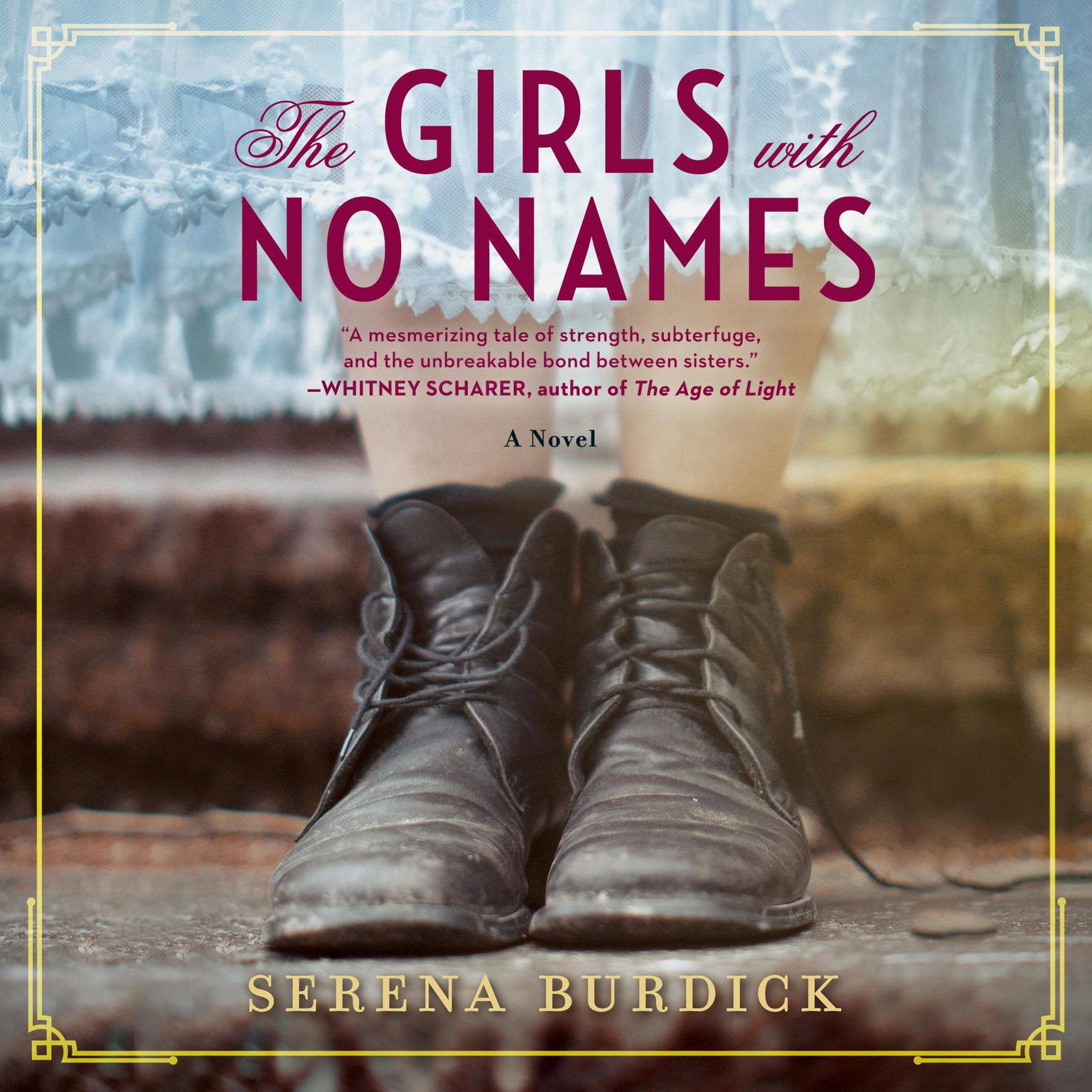 Printable The Girls with No Names: A Novel Audiobook Cover Art