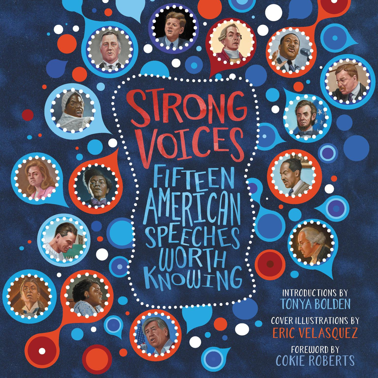 Printable Strong Voices: Fifteen American Speeches Worth Knowing Audiobook Cover Art