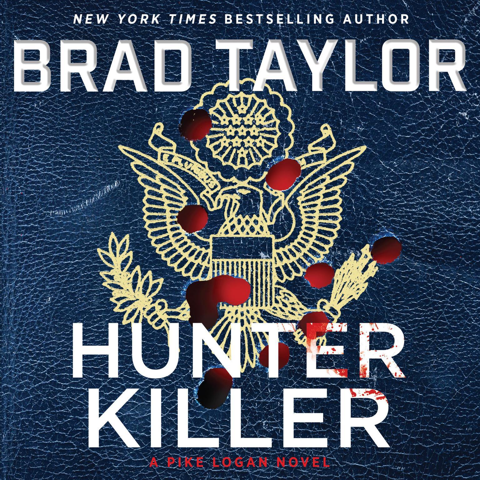 Printable Hunter Killer: A Pike Logan Novel Audiobook Cover Art