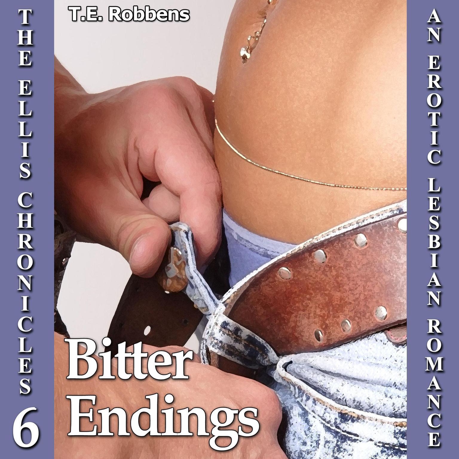 Printable Bitter Endings : An Erotic Lesbian Romance Audiobook Cover Art