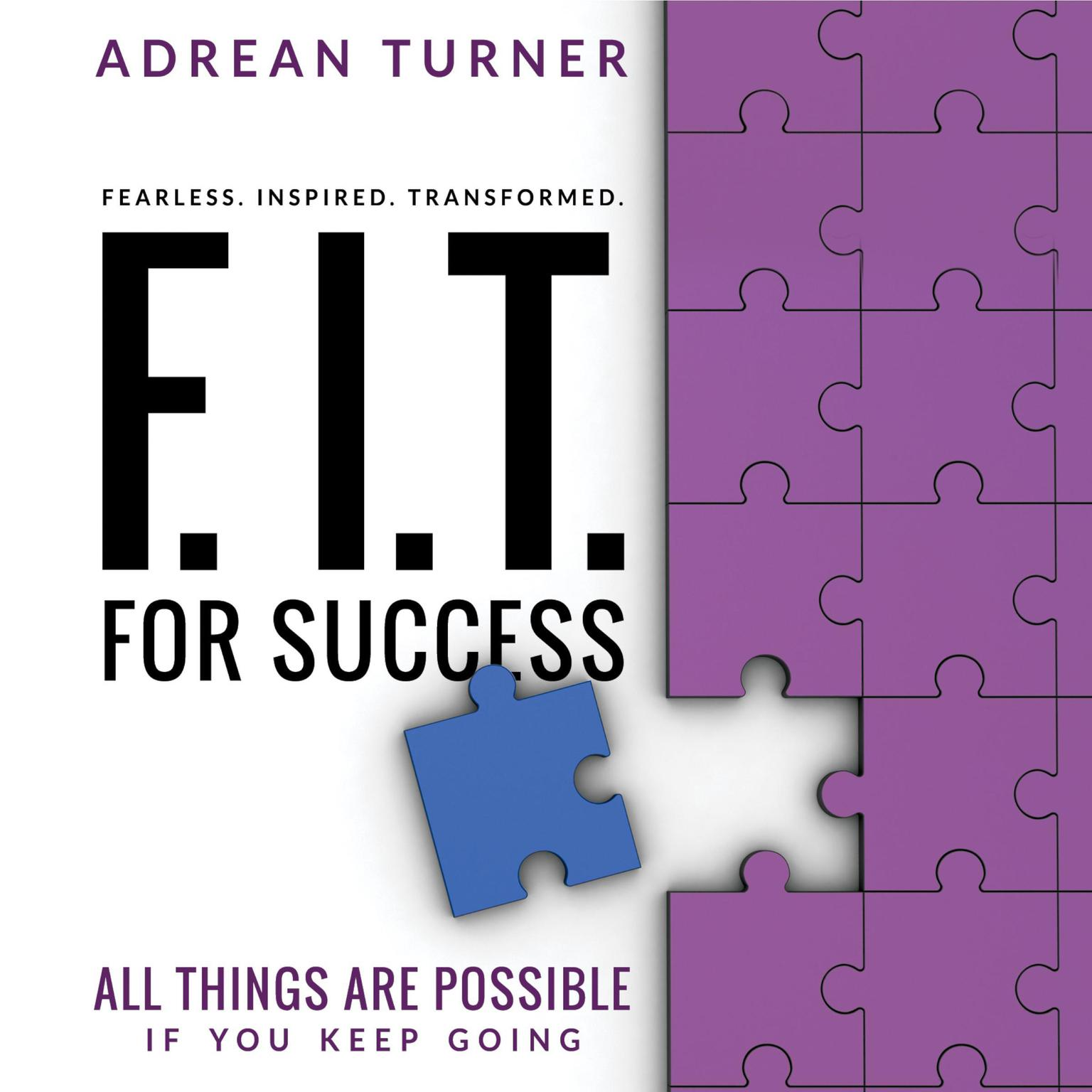 Printable FIT For Success Audiobook Cover Art