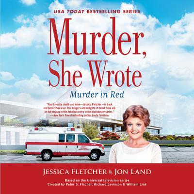 Murder, She Wrote:  Murder in Red Audiobook, by Jessica Fletcher