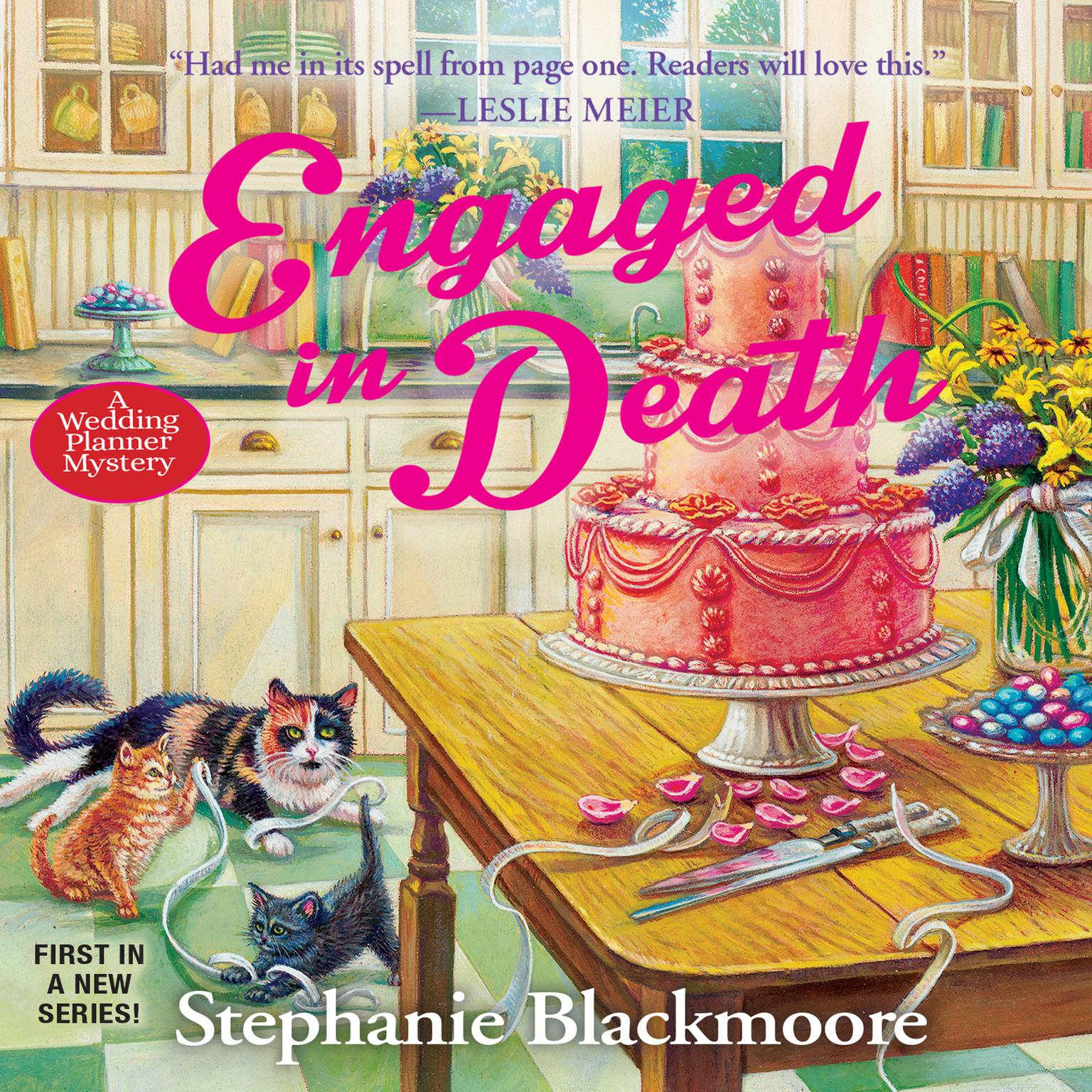 Engaged in Death Audiobook, by Stephanie Blackmoore
