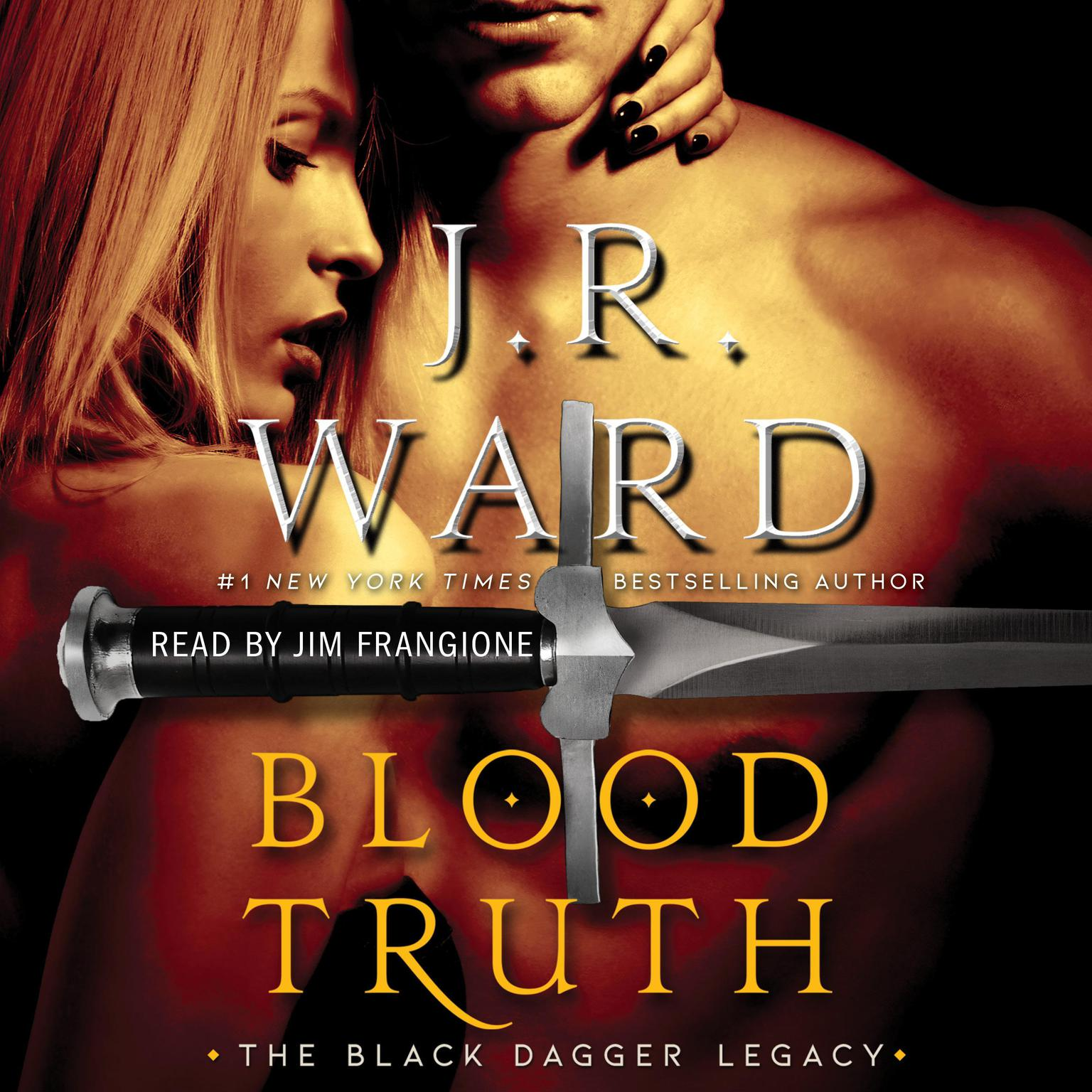 Printable Blood Truth Audiobook Cover Art