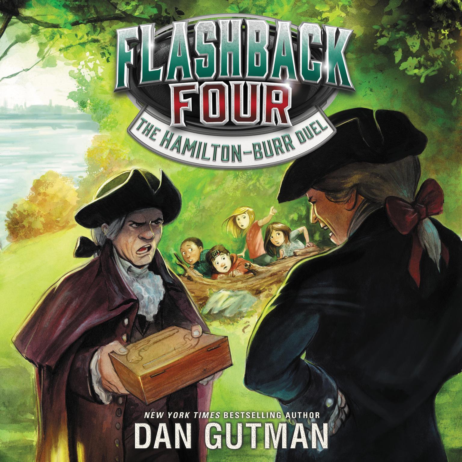 Printable Flashback Four #4: The Hamilton-Burr Duel Audiobook Cover Art