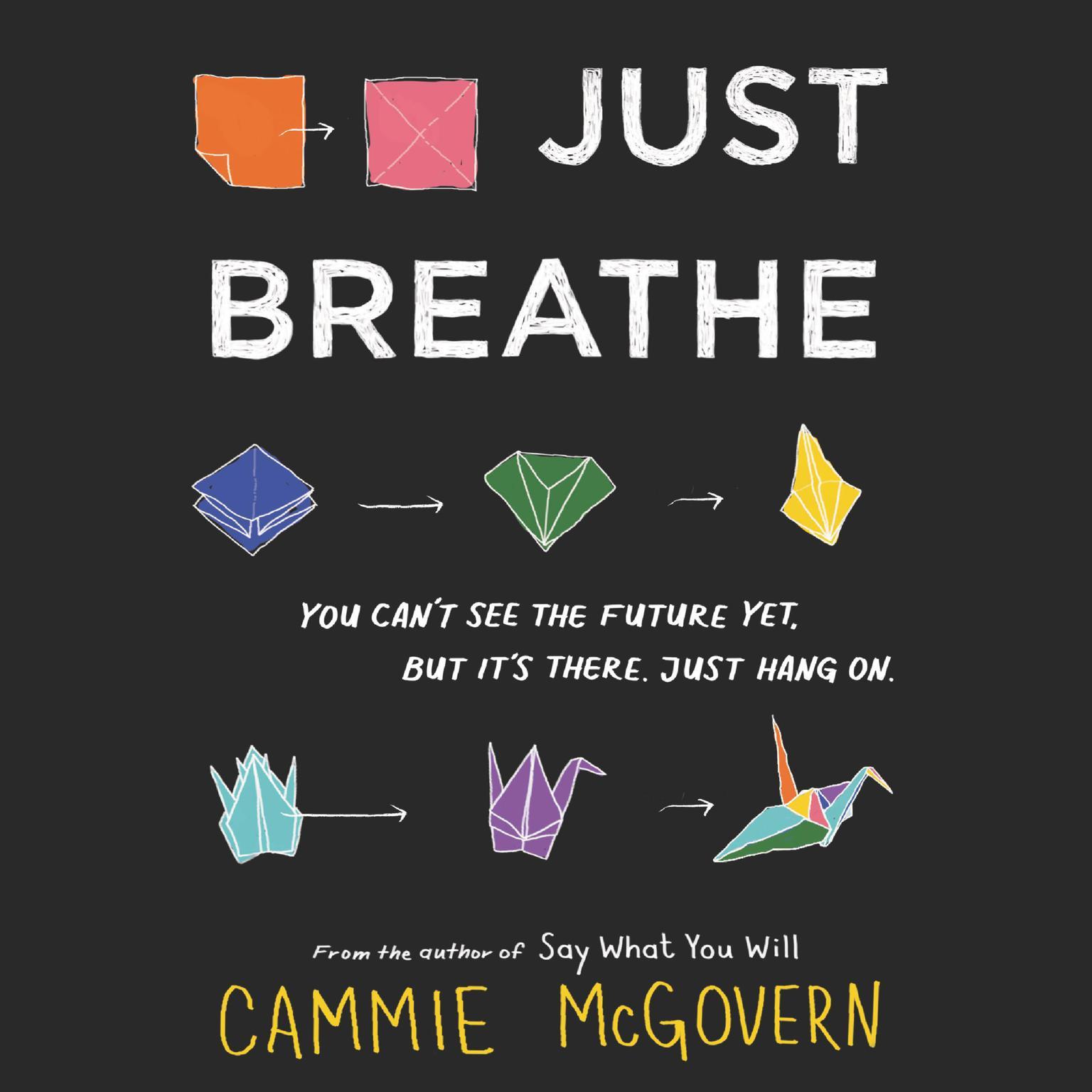 Printable Just Breathe Audiobook Cover Art