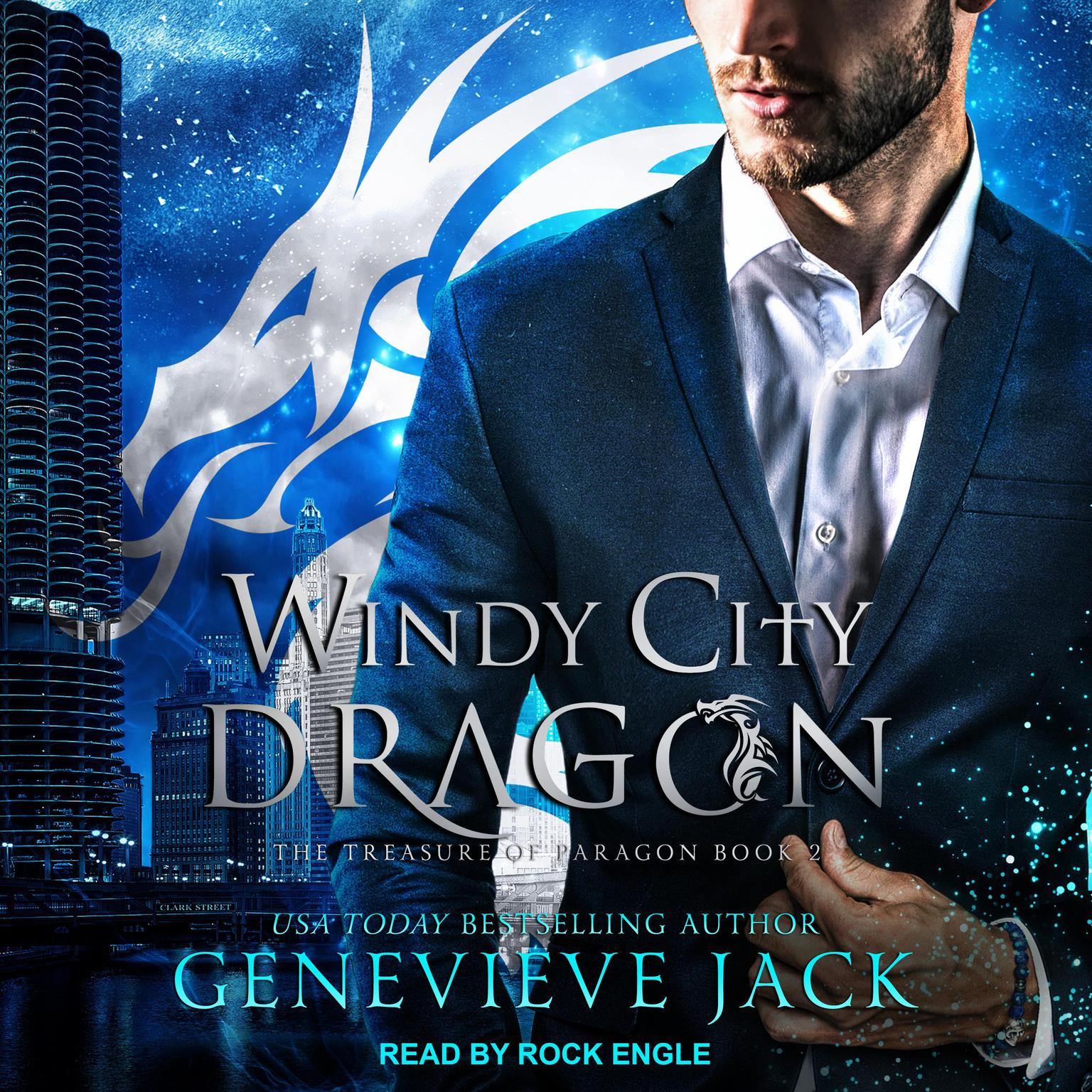 Printable Windy City Dragon Audiobook Cover Art