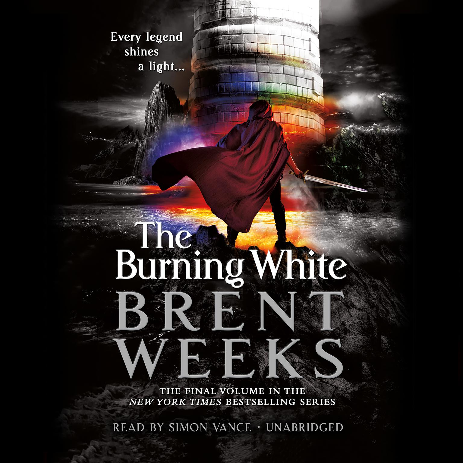 Printable The Burning White Audiobook Cover Art