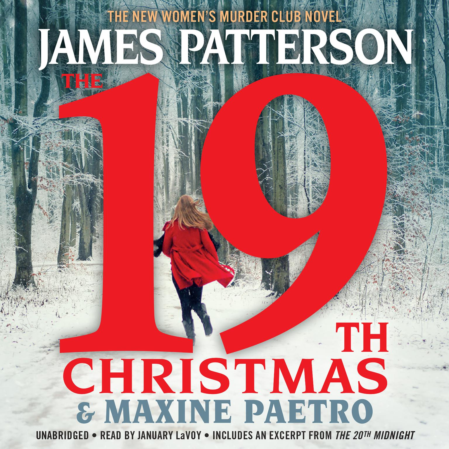 Printable The 19th Christmas Audiobook Cover Art
